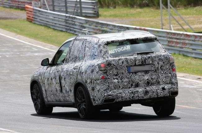 У мережі зявилося відео проходить тести нового BMW X5