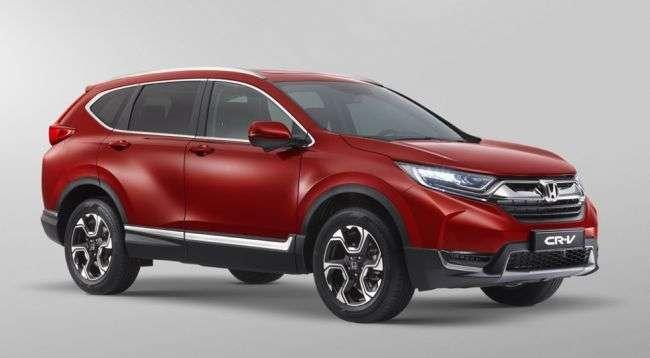Honda оголосила ціни на три комплектації нового кросовера CR-V для Росії
