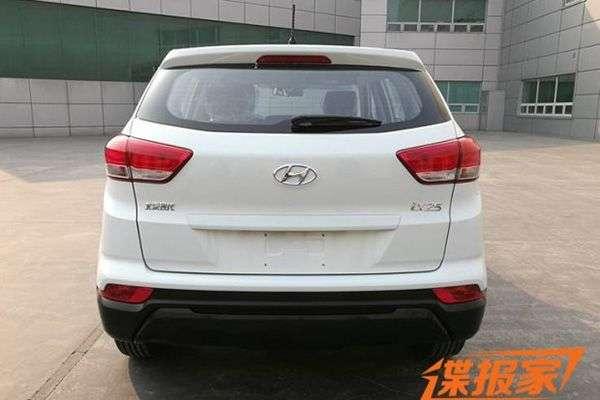 Опубліковані фото оновленої Hyundai Creta для Китаю