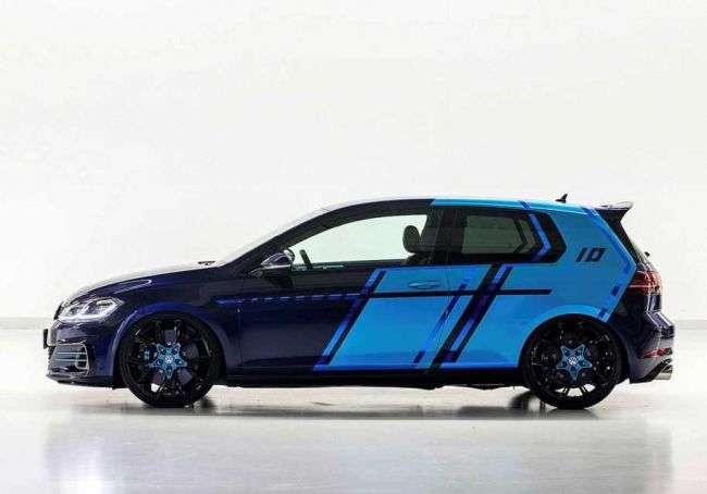 Представлений гібридний 410-сильний Volkswagen Golf GTI