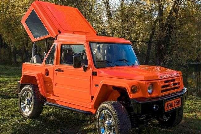 Новітній позашляховик «Сталкер» створюють у Росії на базі «Ниви»