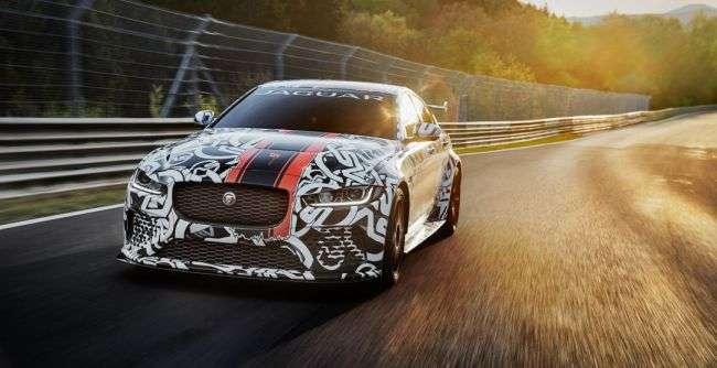 Jaguar офіційно представила лімітований XE SV Project 8