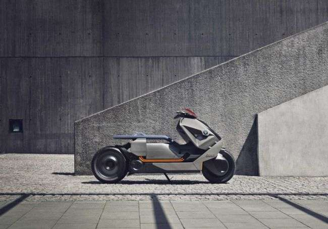 Представлений концептуальний мотоцикл BMW Motorrad Concept Link
