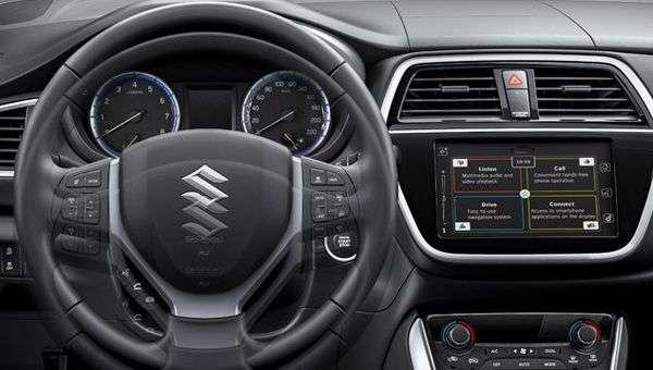 Оновлений кросовер Suzuki S-Cross представлений офіційно