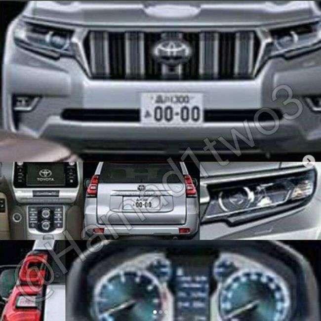 Опубліковані перші фото оновленого Toyota Land Cruiser Prado