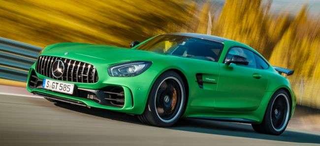 Названі ціни на оновлений Mercedes-AMG GT в Росії