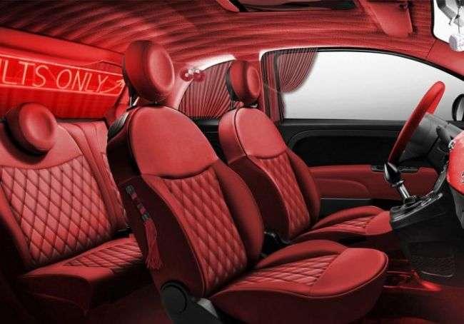 Ілюстраціями з Камасутри був покритий кузов Fiat 500