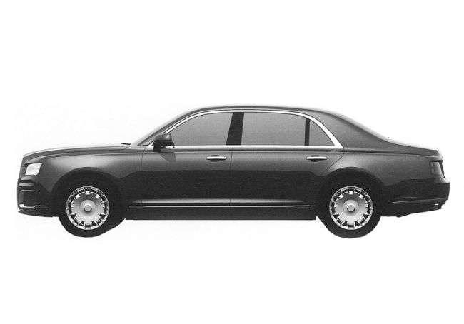 Патентні зображення показали фінальний дизайн седана «Кортеж»