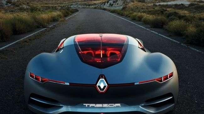 Компанія Renault показала концепт Renault Trezor
