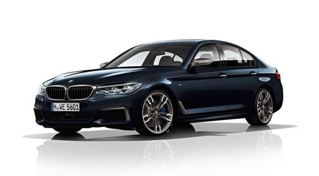BMW оголосила рублеву ціну на найпотужніший седан «M550d xDrive»