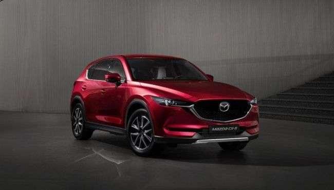 На новий кросовер Mazda CX-5 оголосили рублеву ціну