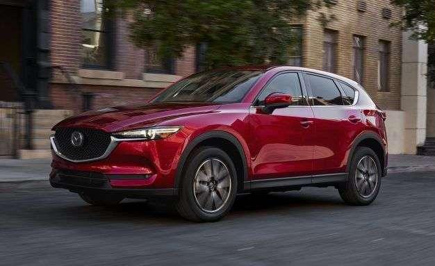 Компанія Mazda озвучила ціну на новий кросовер Mazda CX-5