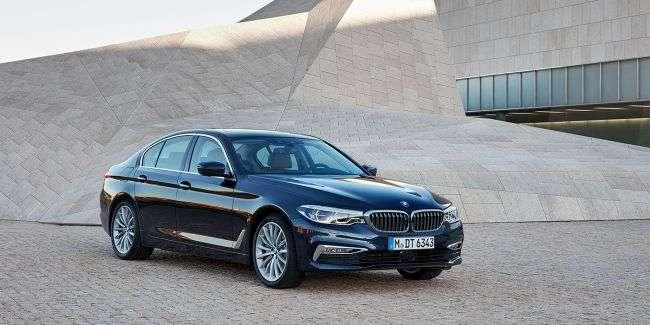 Ціну на саму доступну версію 5-Series BMW оголосила