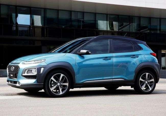 Hyundai представив компактний кросовер Kona