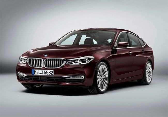 BMW розсекретив до премєри зовнішність нового хетчбека 6-Series GT