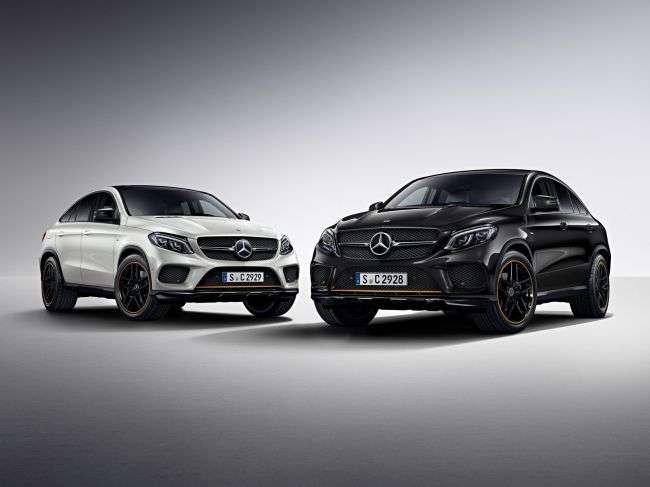 Mercedes відкриває замовлення на особливі купе-кросовери GLE Coupe