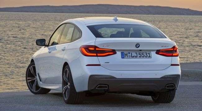 BMW 640i Gran Turismo 2018 модельного року отримає цінник в $70 тисяч