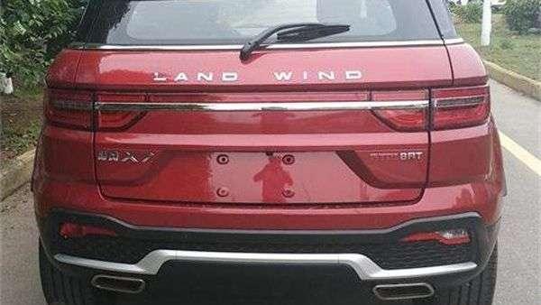 Landwind оновила китайський клон Range Rover Evoque