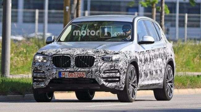 Кросовер BMW X3 нового покоління знову помітили фотошпигуни