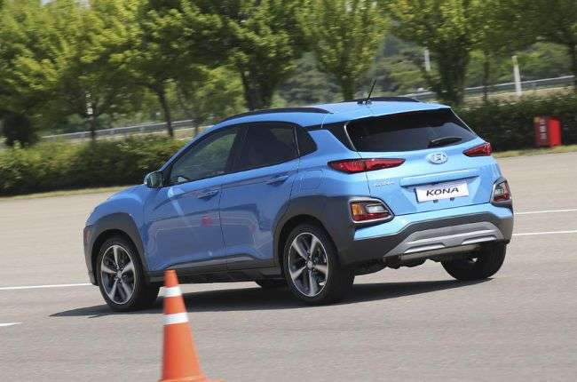Британським журналістам вдалося протестувати кросовер Hyundai Kona 2018