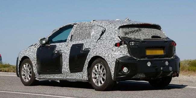 Нове покоління Ford Focus 2018 помітили на тестах в серійному кузові