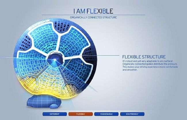 Michelin представив непробивні шини які можна надрукувати на 3D-принтері