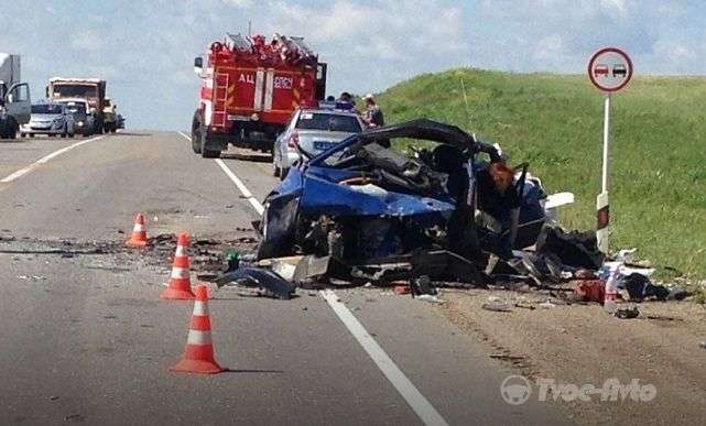 Страшне ДТП на Ставропіллі забрав життя чотирьох людей, ще двоє отримали травми