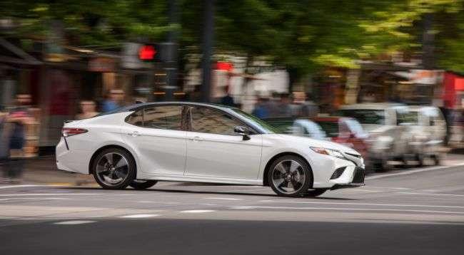 Toyota Camry отримала цінник і готується до продажу в США