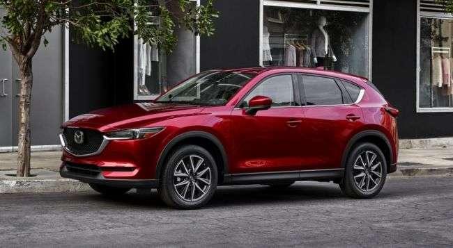 У Росії почалося виробництво кросовера Mazda CX-5