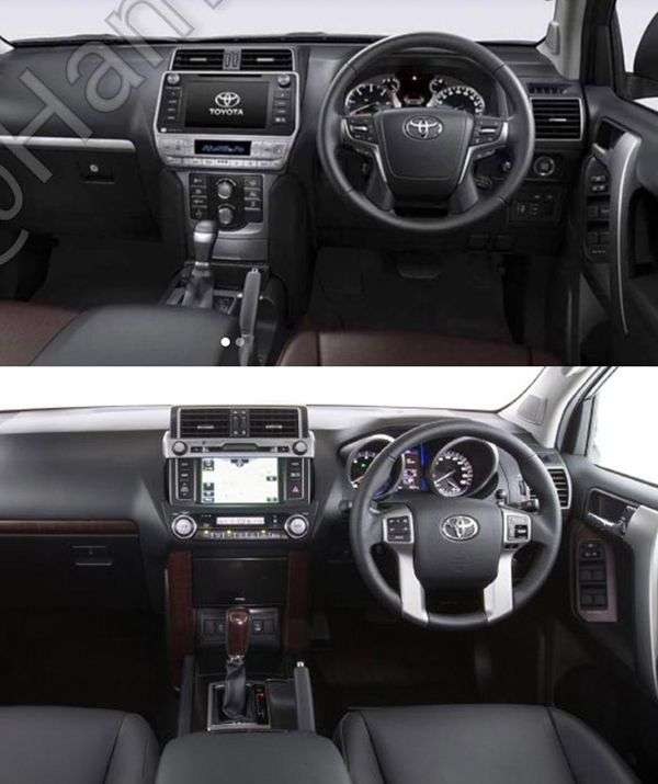 Оновлений Toyota Land Cruiser Prado розсекречений на фото до премєри