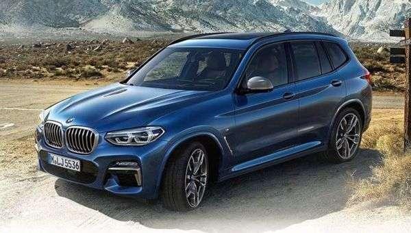 Новий BMW X3 розсекретили на офіційних фото до премєри