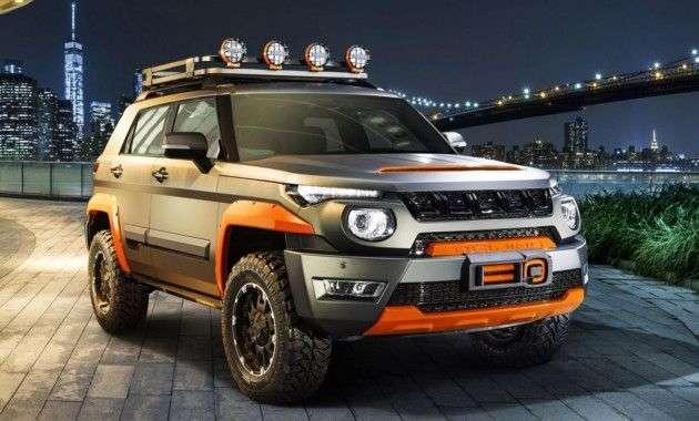 У кросовера Beijing BJ20 з дивним дизайном зявилася спецверсія
