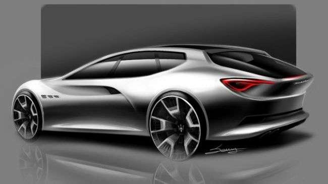 Опубліковано рендер нового універсалу Maserati Sport Wagon Concept