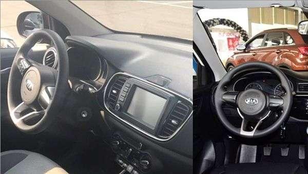 Опубліковані знімки інтерєру самого бюджетного седана Kia
