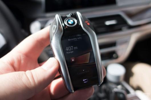 Відео: Ключ-брелок нового покоління BMW 7-series