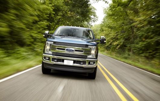 2017 Ford F-Series Super Duty з алюмінієвим кузовом