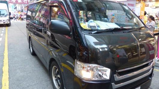 У Гонконзі найпопулярнішими автомобілями є мінівени та мікроавтобуси