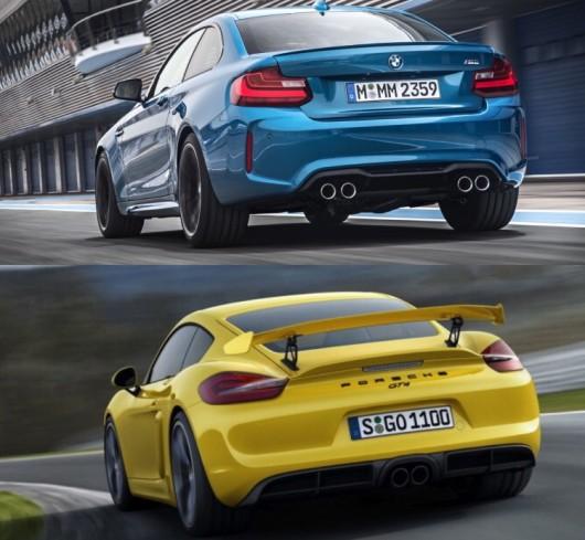 BMW M2 проти Porsche Cayman GT4