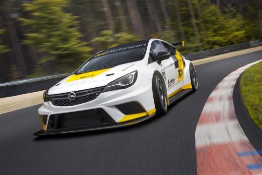 Opel Astra TCR, превю гоночного Опель