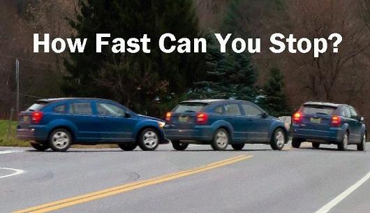 Відмовили гальма, що робити, як зупинити машину?