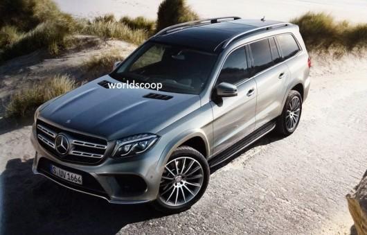 Зовнішній вид 2017 Mercedes-Benz GLS (колишній GL)
