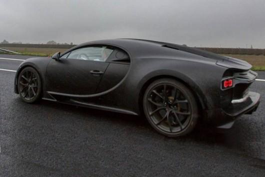 Прототип 2016 Bugatti Chiron, перші технічні характеристики, фото, відео