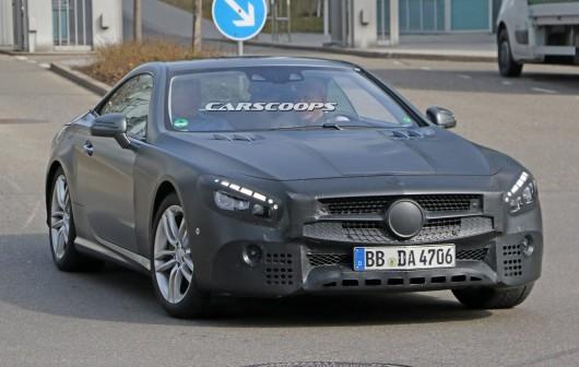 Очікувана премєра 2017 Mercedes-Benz SL Roadster на автосалоні в Лос Анджелес 2015