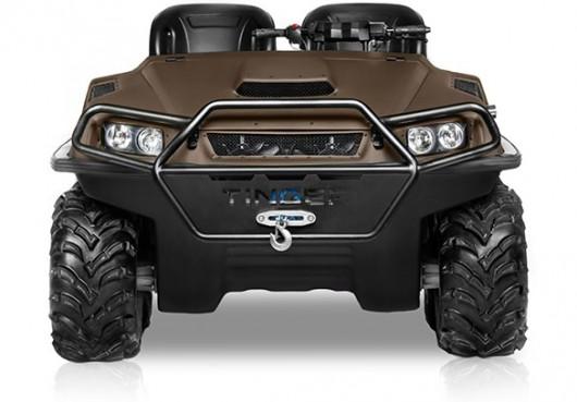 Міні танк для їзди по бездоріжжю: Тест-драйв всюдихода Tinger Track
