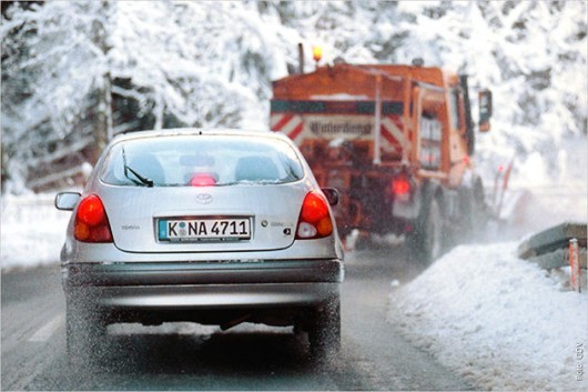 Десять помилок водіїв взимку
