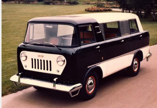 Сім невідомих позашляховиків марки Jeep
