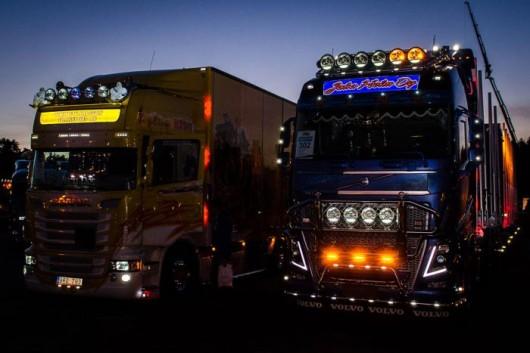 Аерографія на вантажівках