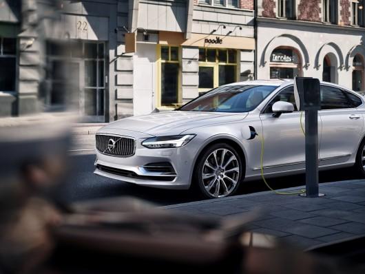 2017 Volvo S90: Зовнішність розкрита у формі масштабної моделі
