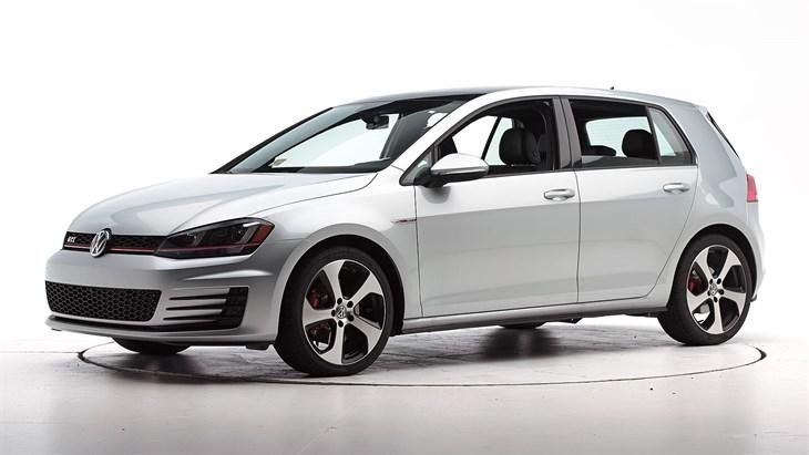 Краш-тест 2016 Volkswagen GTI
