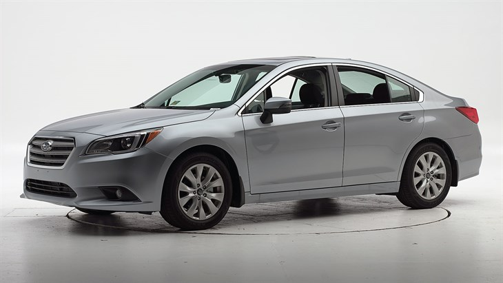 Краш-тест 2016 Subaru Legacy